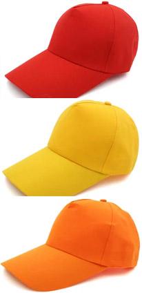 红色志愿者帽子