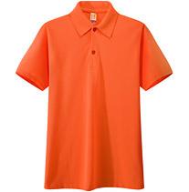 广告t恤衫 橙色 橘红色