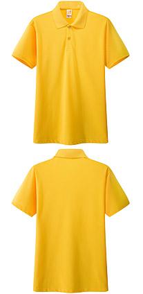 桔黄色 广告t恤衫