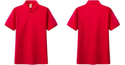 广告t恤衫 红色
