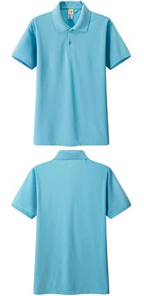 广告衫 t恤衫 天蓝色