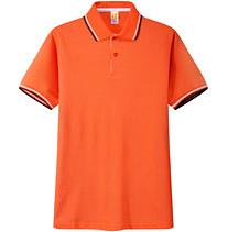 POLO衫 t恤衫 橘红色