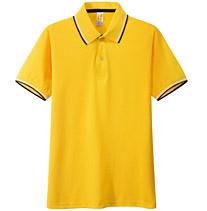 POLO衫 t恤衫 黄色