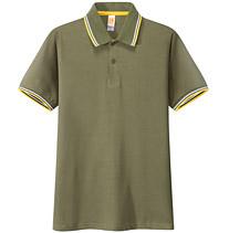 POLO衫 t恤衫 军绿色