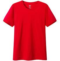 聚会t恤衫 纪念衫 文化衫 大红色