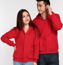 红色情侣装卫衣