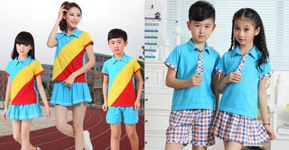 夏季师生幼儿园服