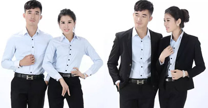 职业装套装女装夏装 长袖衬衫